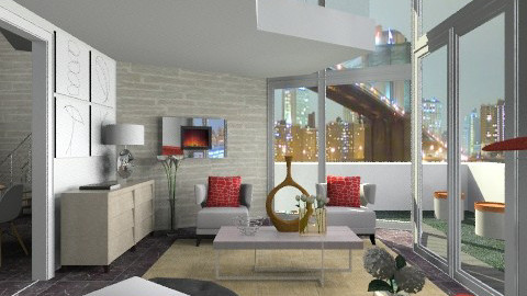 2050 Urban - Modern - Living room - by channing4