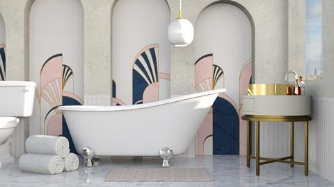 Art Deco Bath - Bathroom  - by luna selvaggia