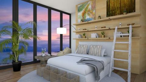 Bed window - Bedroom  - by housedec2814