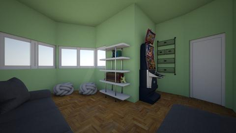 My Bedroom - Eclectic - Bedroom  - by EmmieFord