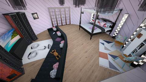 Pink Party - Bedroom - by Bobbi Finch
