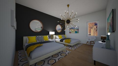 NY - Bedroom - by flacazarataca_1