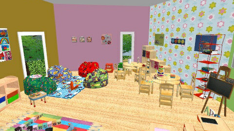 asylum - Glamour - Kids room  - by carlita