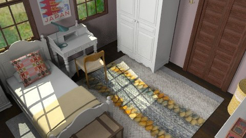 Foursquare Girl's Room - Eclectic - Kids room  - by lauren_murphy