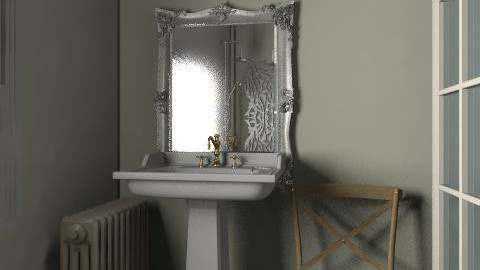 vintage chic - Vintage - Bathroom - by sallykatie