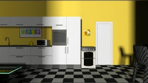 amazing - Retro - Kitchen  - by krazymeetsbeauty