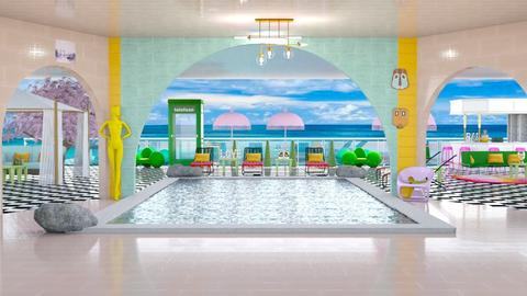 Hotel Pool Template - by hmm22