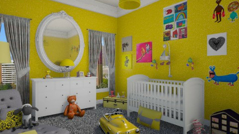 nursery room - Kids room  - by mayssa ltf