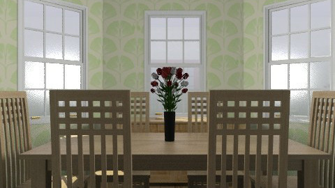 Crappy dining room that I didn't feel the urge to finish - Dining room - by Hoppertons