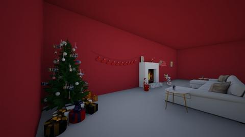 Christmas Living Room - Living room  - by ZDesigner
