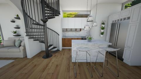 modern kitchen - Kitchen - by kaylers101