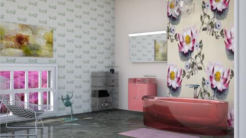 Frog - Bathroom  - by augustmoon