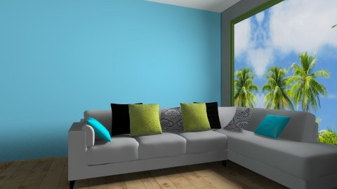 Ocean Design - Modern - Living room - by Fatima15