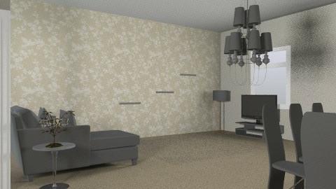 sala de estar - Glamour - Living room  - by arqui