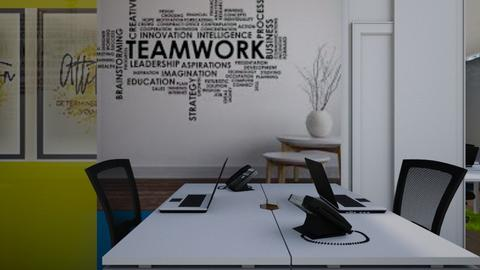 Table 1 view - Office  - by Jeycie Designs