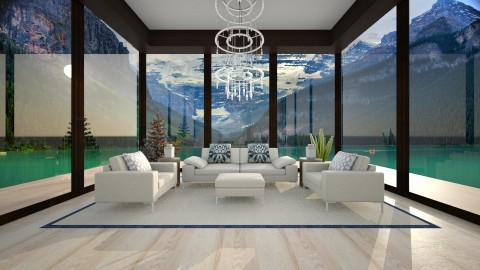 Lake Reception - Minimal - Living room  - by Bianca Biffa Hart