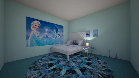 Frozen theme room - by ZoeC3587