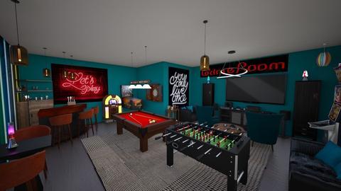 gameroom - by Christine Keller
