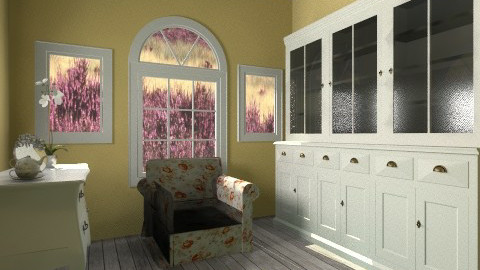 On my own - Country - Living room  - by hetregent