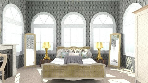 My dream french bedroom - Vintage - Bedroom  - by haIlley