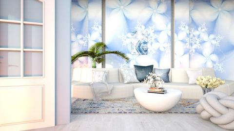 Winter Flowers - Living room  - by Feeny