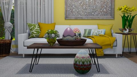 Easter - Living room  - by Tuija