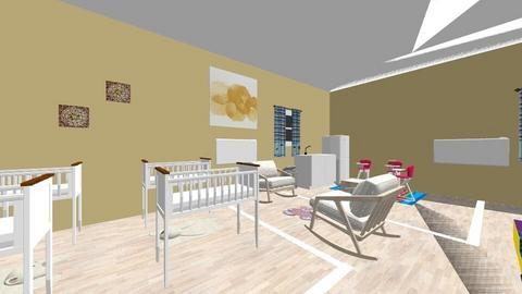 Aulas infantil - Kids room  - by Babysitters