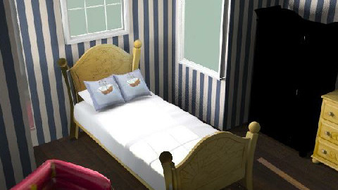 Franks room - Glamour - Kids room  - by Tom Chapman