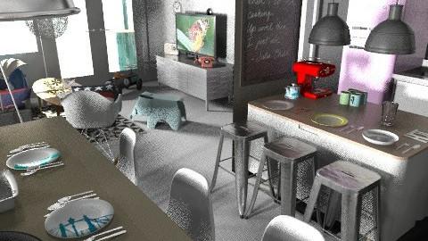 banjavciceva kdbbl2 - Eclectic - Kitchen  - by tatjana_novak