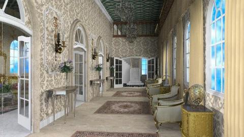 Versailles - Classic - Hallway - by Bibiche