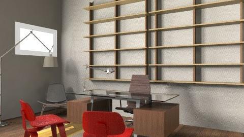 Oskar - Eclectic - Office  - by malinda13