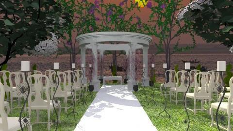 perfect wedding - Modern - Garden  - by lamzoi