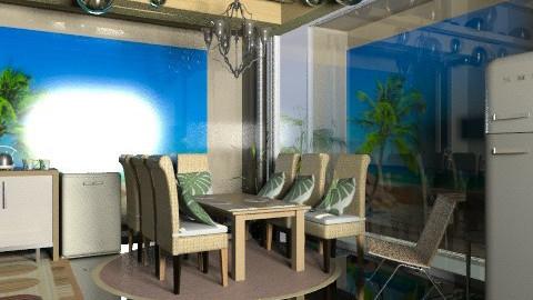 beach house2 - Modern - Kitchen  - by decorj