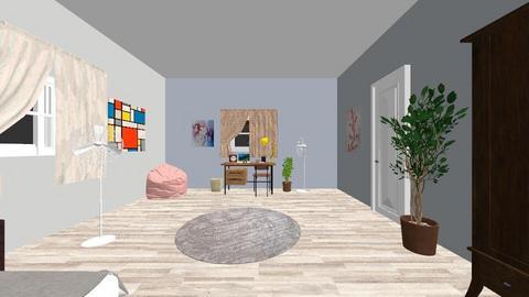 cutieeee - Minimal - Bedroom  - by rashaaaa