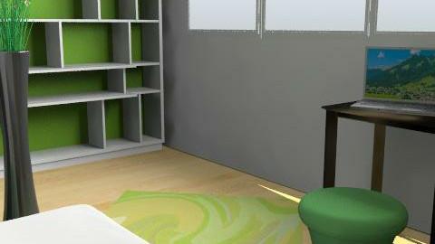 somaszoba - Retro - Bedroom  - by solo98