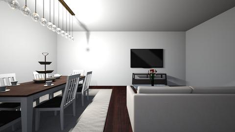 Living and Dining room - Modern - by Super estilista