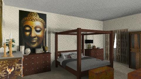 Dormitorio  de Contrastes - Eclectic - Bedroom  - by ericeira