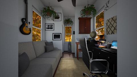 Super Tiny House - Living room  - by SammyJPili