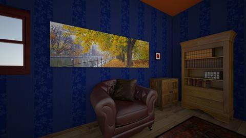 grandfathers house - Vintage - Living room  - by alliiciia