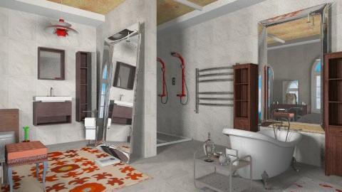 Mixed - Eclectic - Bathroom - by mrschicken