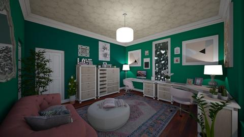 Blush Office - Office  - by Jodie Scalf