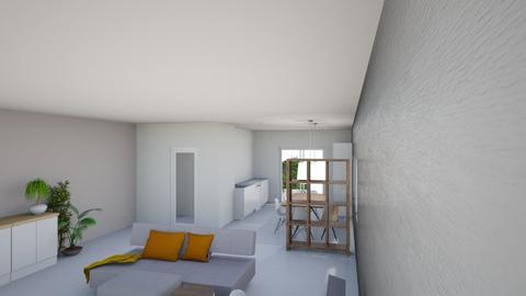 gespiegelde woonkamer - Living room - by VictordeVos