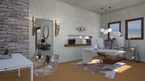 Dr No Inspired Office - Office  - by 2001blon