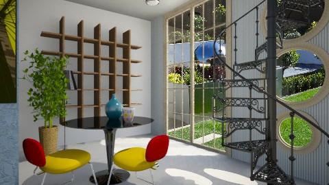Tati Films Inspired Room - by Sarah Canham