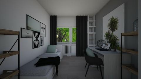 slaapkamer elvie 2 - Bedroom - by elvievandenbroek