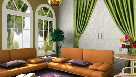 OPL - Eclectic - Living room - by milyca8