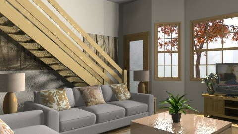 Basix x 2 - Country - Living room  - by Cathd0411