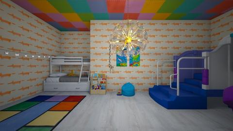 childroom - Glamour - Bedroom  - by lois8