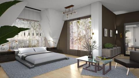 Modern Bedroom - by ZsuzsannaCs