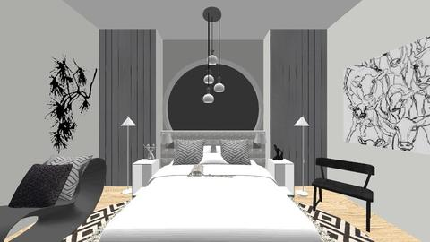 _ 1 _ - Minimal - Bedroom  - by shaipayyy